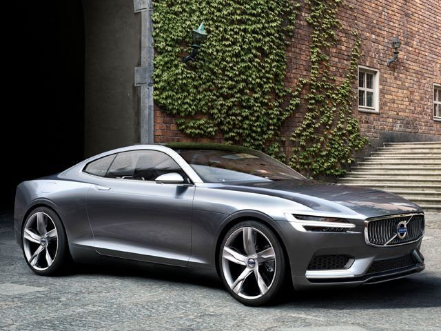 The Volvo Concept Coupe Would be a Great Tesla Rival