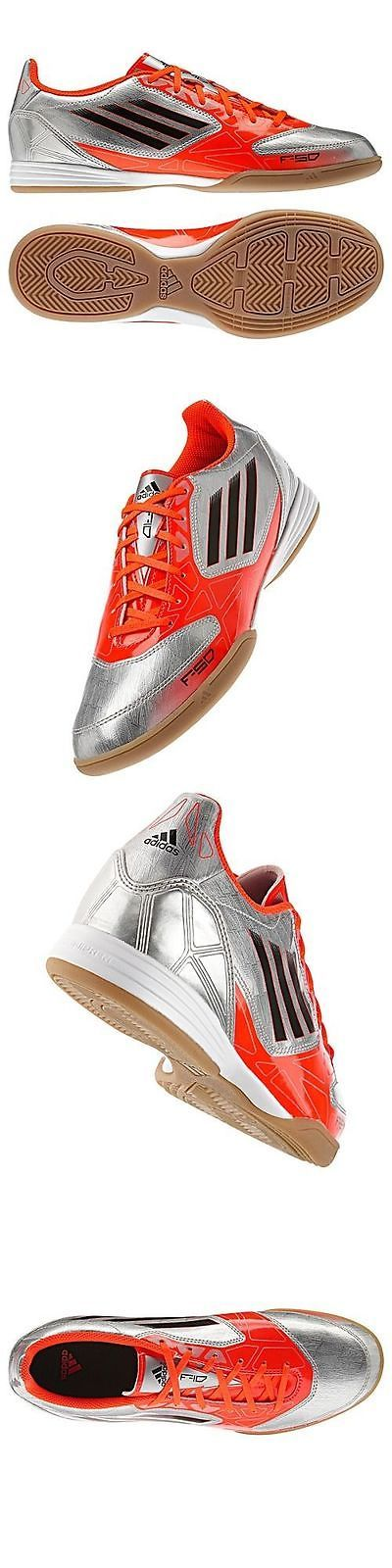 Men 109133: Adidas F10 In Indoor Soccer Shoes Futsal Metallic Silver Messi Color. BUY IT NOW ONLY: $48.75
