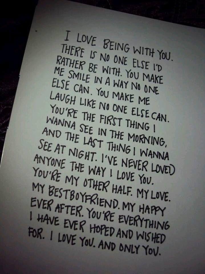 ♡ kind of childishly written... But true.♡