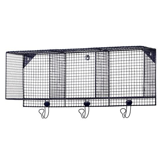 Down to the Wire 3-Cube Wall Shelf (Blue)