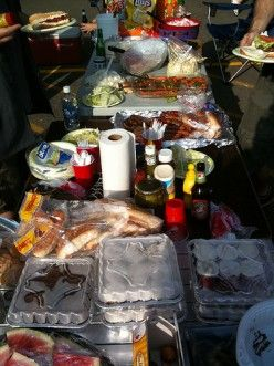 Tailgating tips, including recipes!