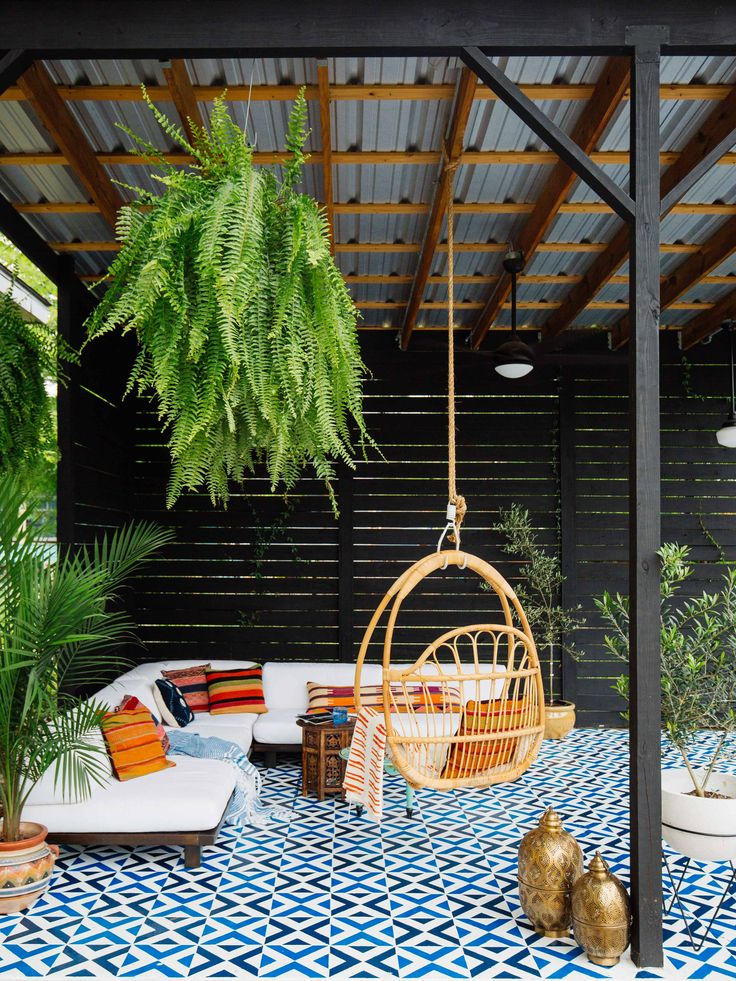 A Little Paint is All it Takes to Totally Transform Your Patio