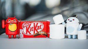 androidpit Kitkat vs Marshmallow