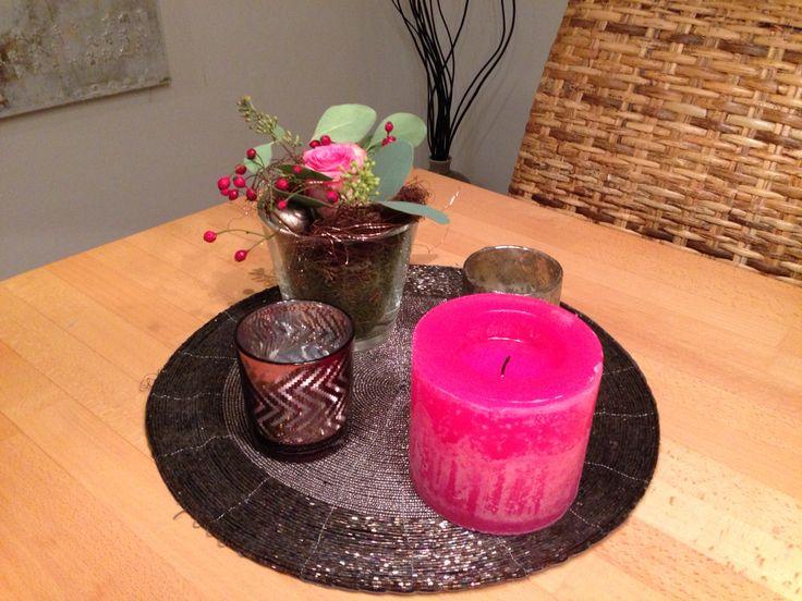 Herbstdeko in pink  Home  Pinterest