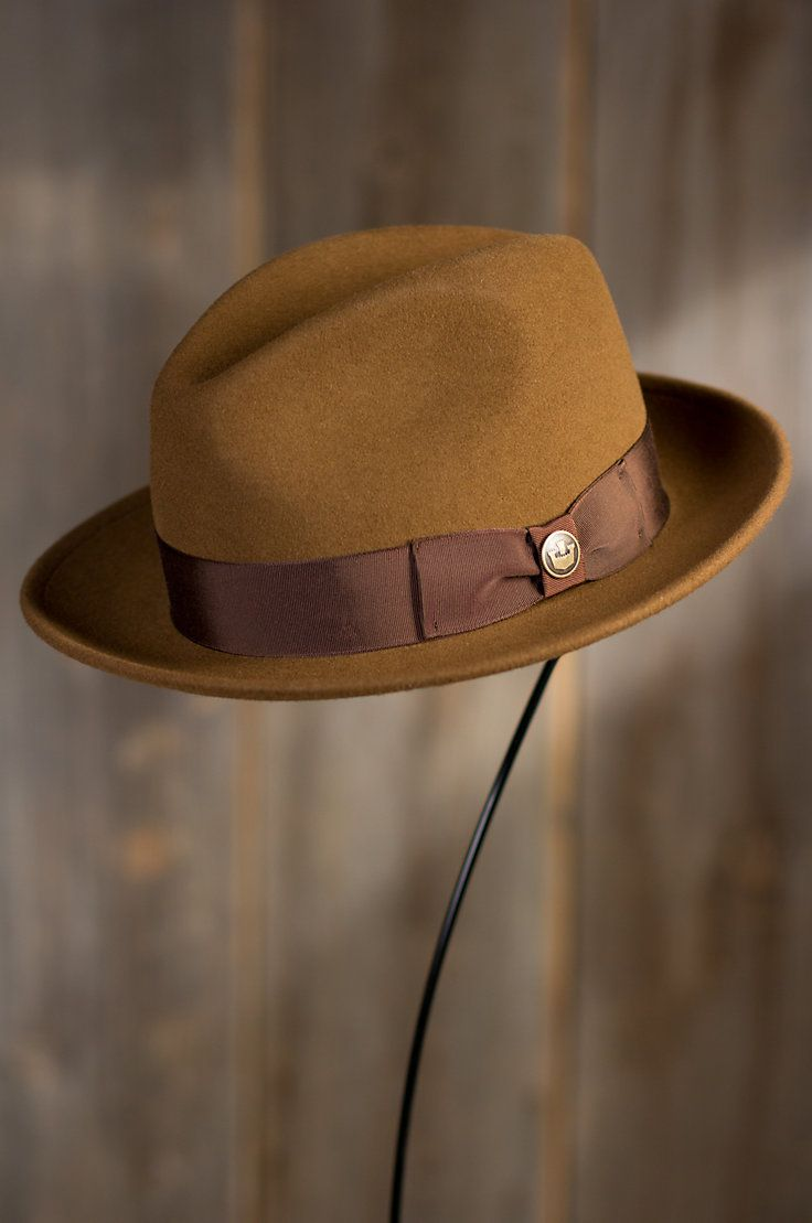 Dean the Butcher Goorin Brothers Wool Fedora Hat by Overland Sheepskin Co. (style 79786)