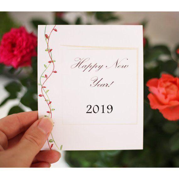 Carte 2019, carte de bonne année, carte de voeux, affiche, carte de souhaits, c…