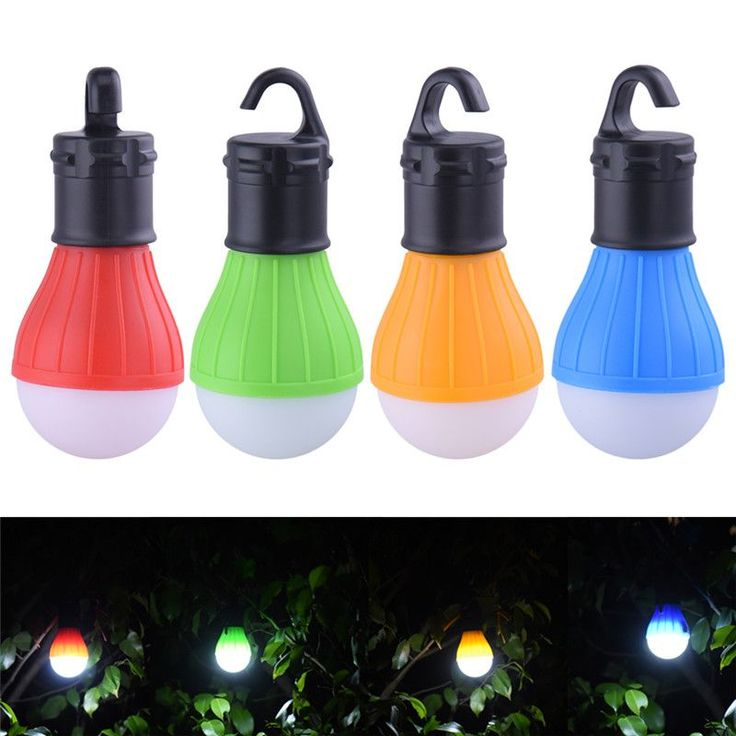 3 LEDs Outdoor Camping Tent Hanging Adventure Lanters Lamp Portable LED Light Hunting hut Fishing Garden Lamp Bulb drop shipping //Price: $3.00 & FREE Shipping //
