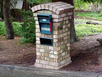 Mailboxes | MASONRY MAILBOXES: