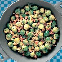 Recept - Knapperige spruitjes met walnoten - Allerhande