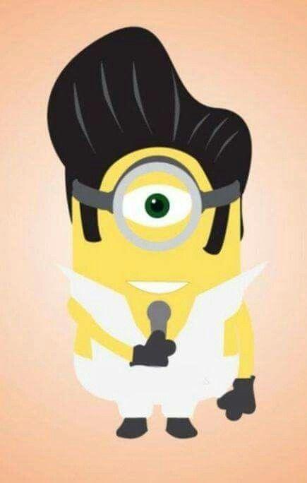 Elvis Minion Elvis Elvispresley My Elvis Pinterest Elvis