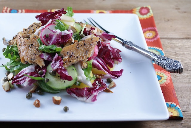 Smoked Trout Salad with Key Lime Mustard Dressing. Fantastic recipe by @Patty Markison Price / Patty's Food