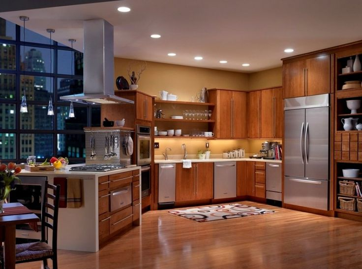 kitchen color ideas natural wood