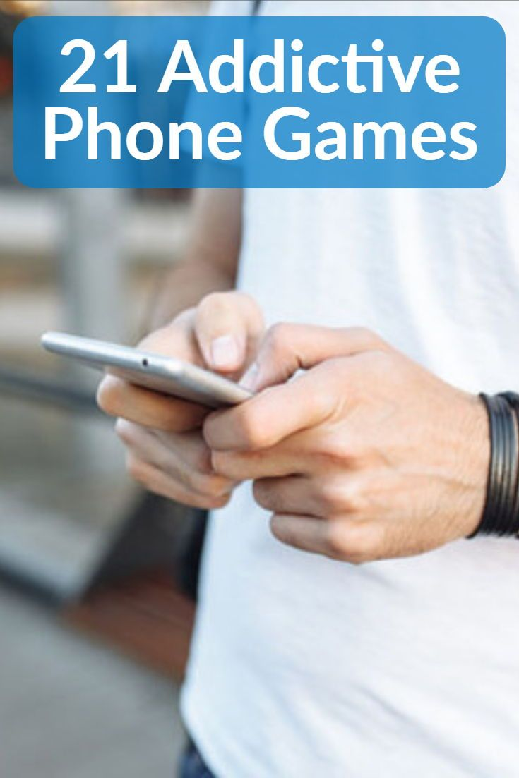 21 Addictive Phone Games