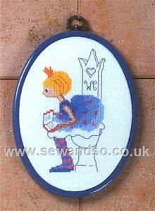 Shop online for Princess Toilet Plaque Cross Stitch Kit at sewandso.co.uk. Browse our great range of cross stitch and needlecraft products, in stock, with great prices and fast delivery.