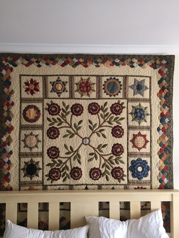 """Our first year in Melbourne quilt"" The Arden Quilt"