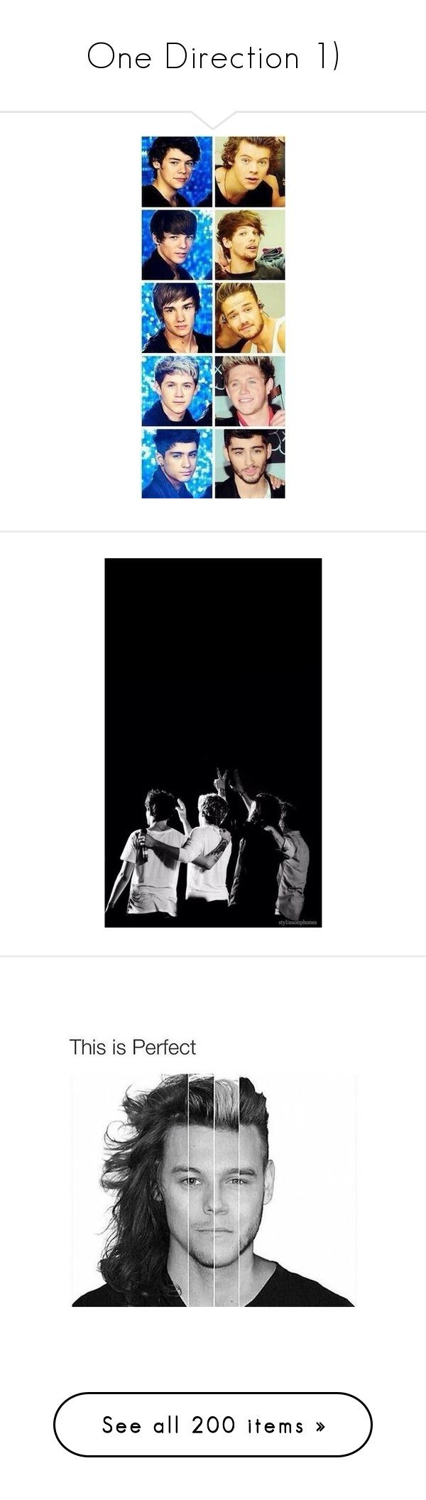 """""""One Direction 1)"""" by harrystaco-wwe ❤ liked on Polyvore featuring tops, t-shirts, white t shirt, white top, retro t shirts, white tee, retro tops, retro tees, one direction and crew-neck shirts"""