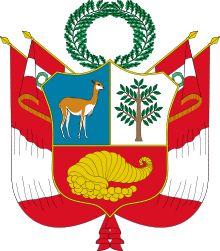 Escudo del Perú - Wikipedia, la enciclopedia libre