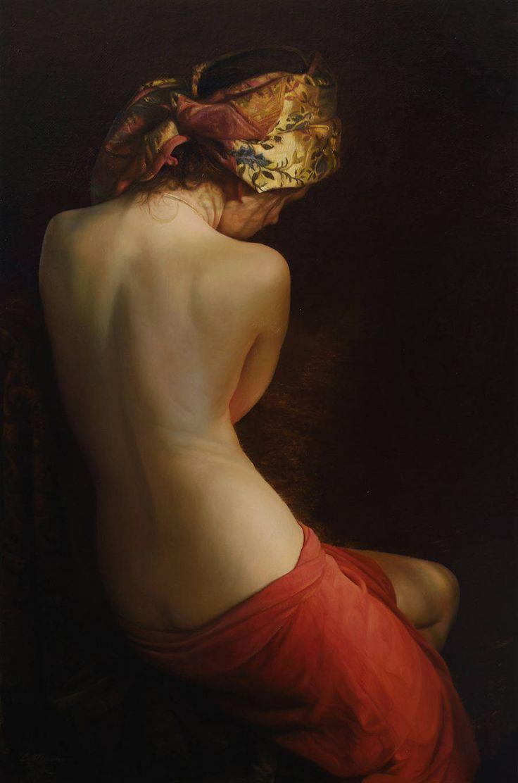 Hyperrealistic Oil Paintings Honoring Feminine Beauty