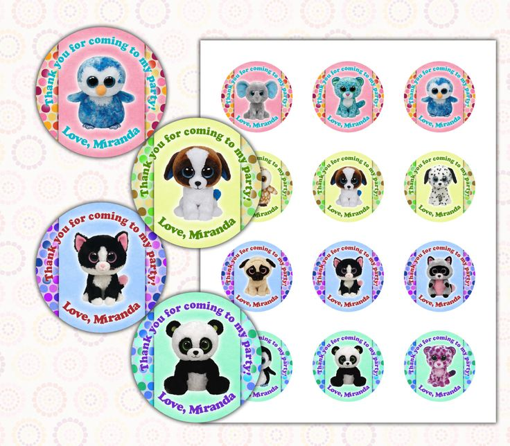 113 best TY Beanie Boo Bday Party images on Pinterest  Beanie boo