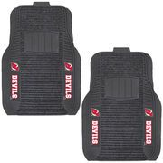 New Jersey Devils Two-Piece Deluxe Car Mat Set