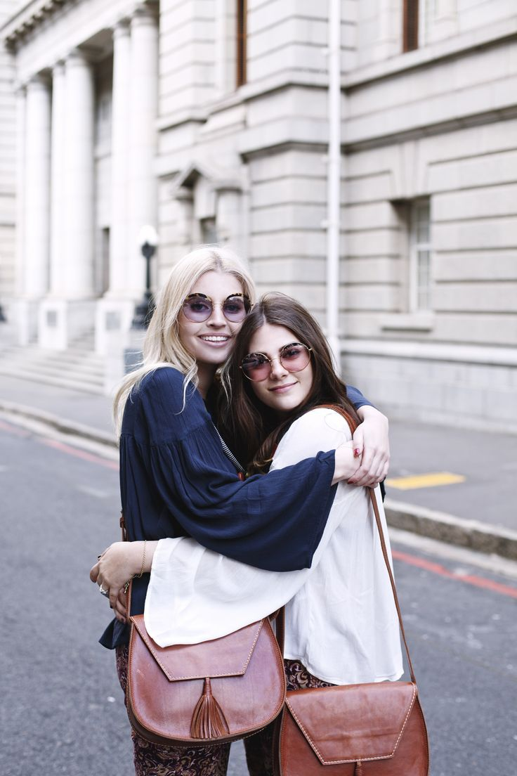 Amy Scheepers Raya Rossi Superbalist best friends fashion style matching leather bohemian Cape Town South Africa