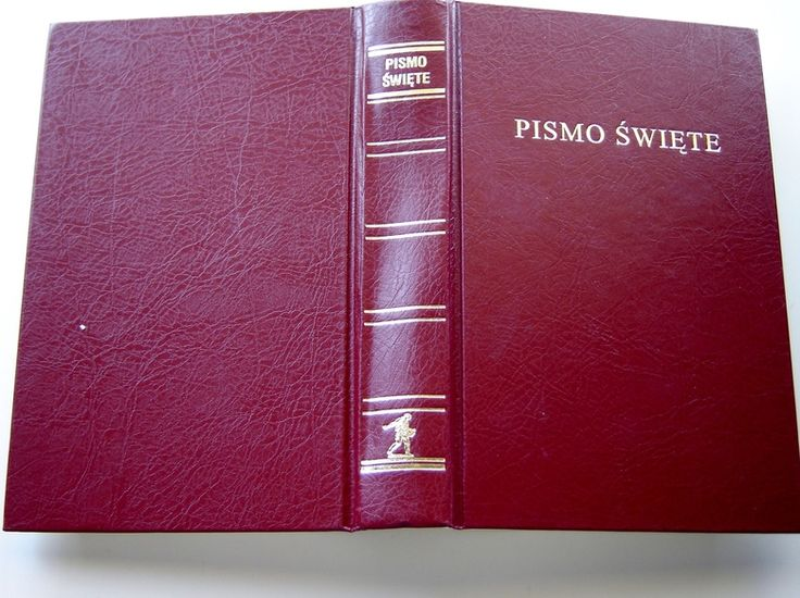 New Edition! Polish Bible, Buy it NOW STANDARD SIZE POLISH BIBLE: OLD AND NEW TESTAMENTS, BURGUNDY VINYL SOFTCOVER / PISMO SWIETE - BIBLIA POLSKA: STAREGO I NOWEGO TESTAMENTU