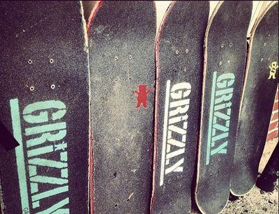 #skater #grizzly #griptape
