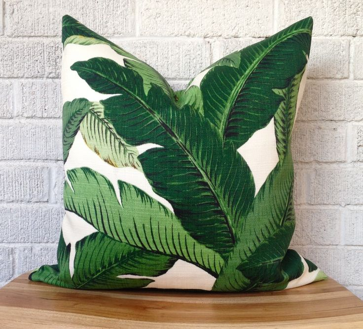 Swaying Palms pillow cover by TanisT #Etsy #EtsyCanada
