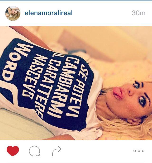 Bomba TOP - Bellissima @elenamoralireal  con t-shirt SNOB. Grazie Elena che spettacolo !!Puoi comprarla anche tu sul sito www.vitasnob.com #facciamomoda #onlytop #tshirt#italianstyle #snobabbigliamento #brand #blogger #vipsnob#beautiful #cool #crazy #coomingsoon #crazyforsnob #dresscode #milano #esageriamo #fashion#effettosnob #instagram #lifeissnob #veryimportant #moda #milano #novita #lagrandebellezza  #noncifermiamomai#snob abbigliamento