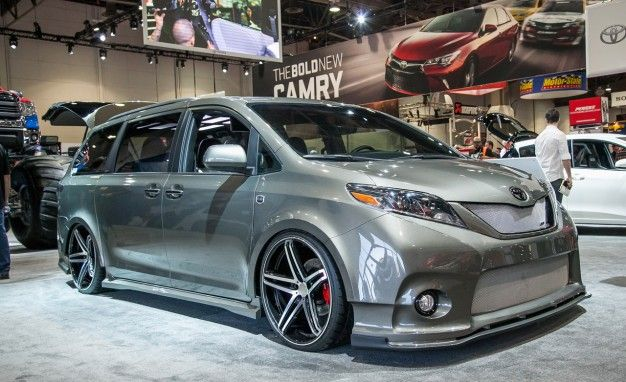 Not sure about making the jump to a minivan? How about a DUB-ed out Toyota Sienna?