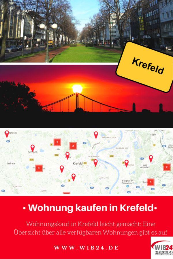 Die eigene Wohnung in Krefeld kaufen und nie wieder Miete zahlen! Schauen Sie sich jetzt die Angebote der WIB24 an!