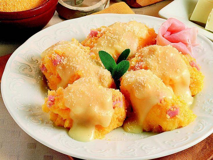 Gnocchi di polenta con prosciutto cotto | Alice.tv