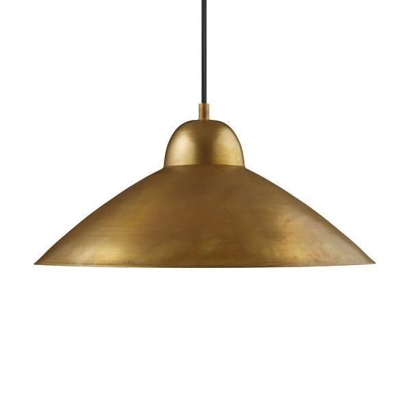 Studio pendel, messing, 40 cm | Hængende lamper, Lamper, Lampe