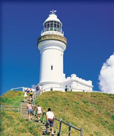 The lighthouse of Byron Bay. Was on our wedding invitation, almost 12 years ago.