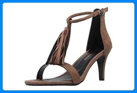 ANDRES MACHADO – Damen Sandaletten – Braun Schuhe in Übergrößen, Größe:44 -… – schuhsohn