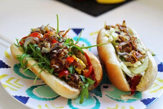funnypilgrim: Rezept: California Hot Dogs