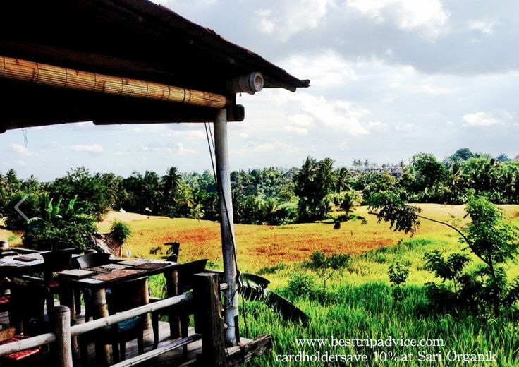 Cardholders save 10% at restaurant & 10% on organic produce at store. @Best Trip Advice, @sariorganik, @Ubud Bali: The Guide