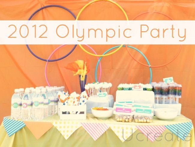 2012 Olympic Party including tutorials for kids crafts, games, party decor, food ideas and more!Kids Parties, Olympics Games, 2012 Olympics, Birthday Parties, Olympics 2012, Parties Ideas, Backyards Olympics, Olympics Birthday, Olympics Parties