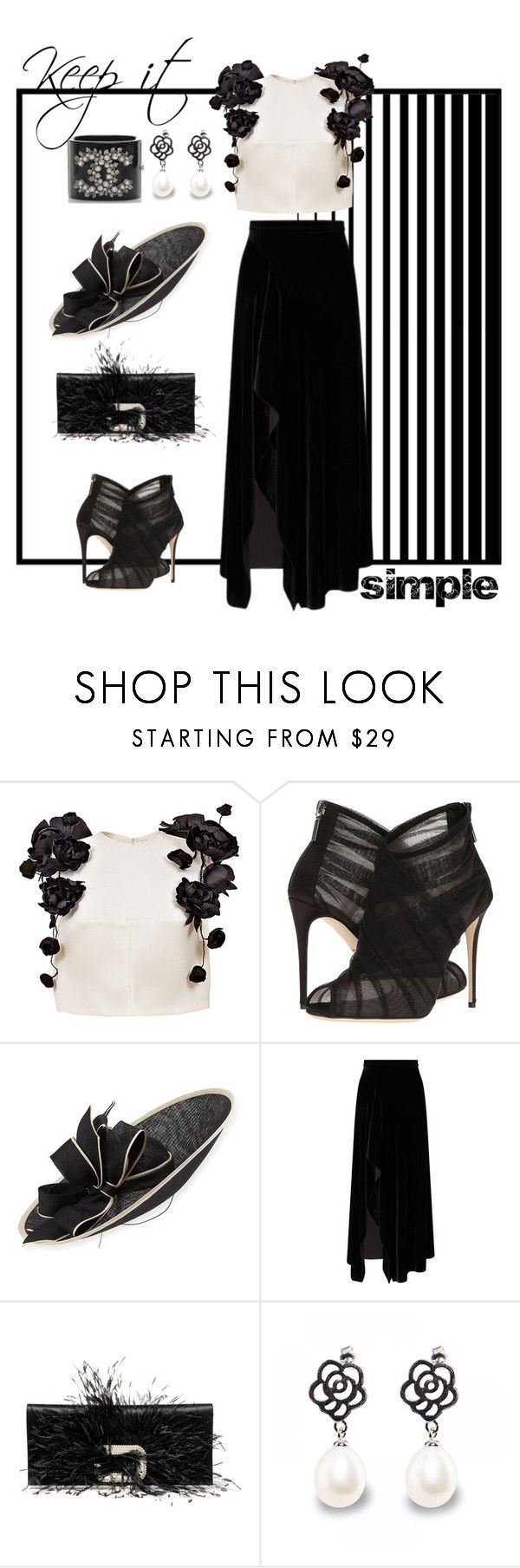 """""""Keep it simple"""" by molly-072 ❤ liked on Polyvore featuring Esme Vie, Dolce&Gabbana, Rachel Trevor-Morgan, Roland Mouret and Roger Vivier"""