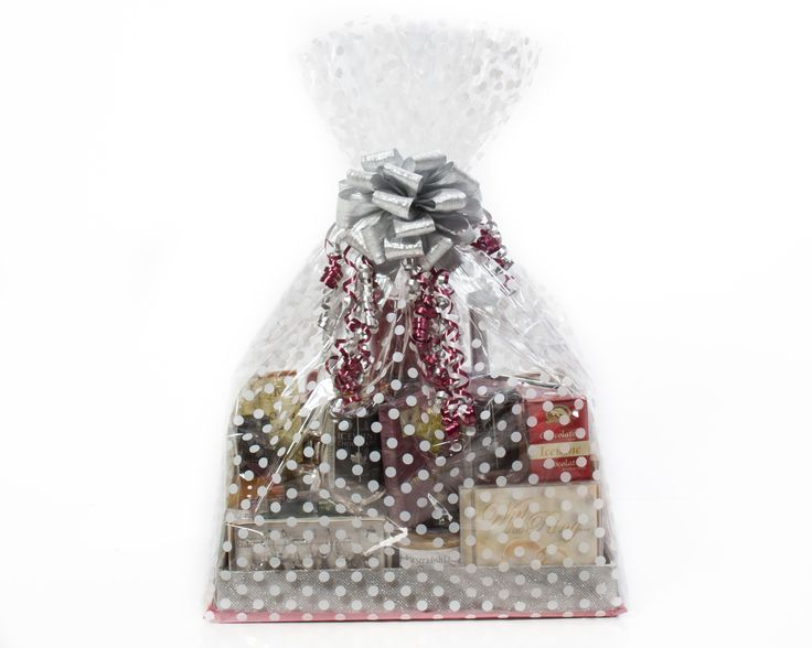 #Wedding #Gifts #Basket #Local #Ottawa #Canada #wine #anniversary, matching the Wedding colors of Merlot and Silver, We can pull together Custom gifts with a little notice! $85.00 to `150.00 range depending on what you want inside!