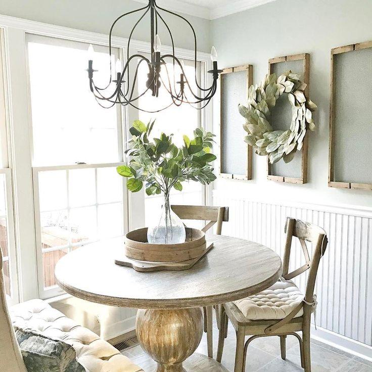 blesser farmhouse friday plum pretty decor design - Kitchen Nook Design