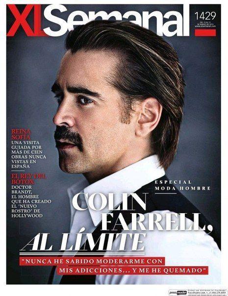 Colin Farrell - Xl Semanal Magazine Cover [Spain] (15 March 2015)