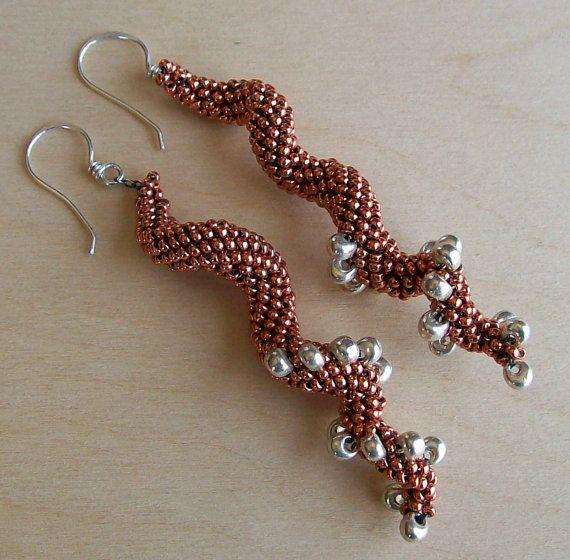"""Aleta Ford Baker""""s Indespiral spiral earrings - sold :)"""
