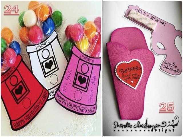 Bubble Gum Valentine Ideas
