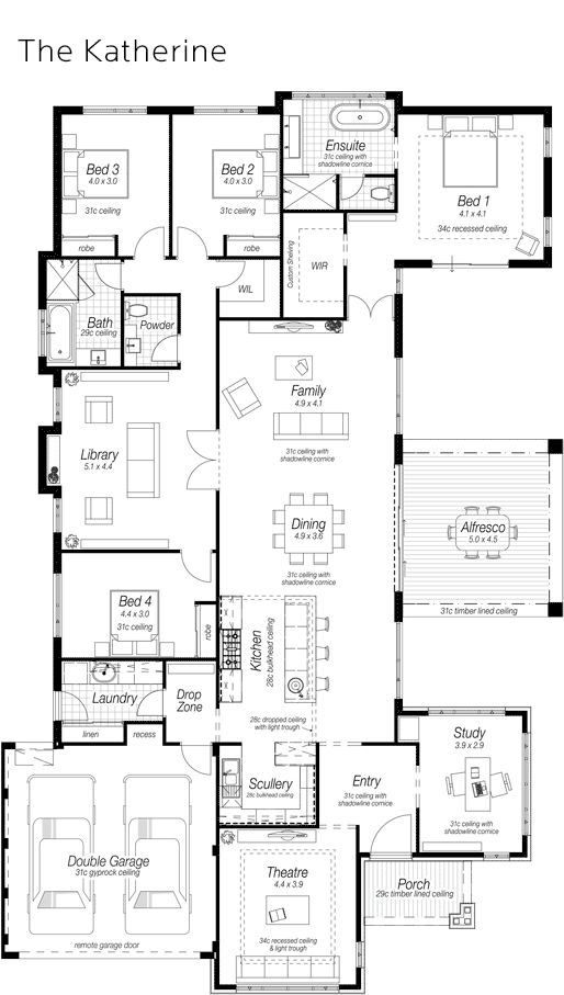 25 Best Ideas About Floor Plans On Pinterest House Floor Plans House Blue
