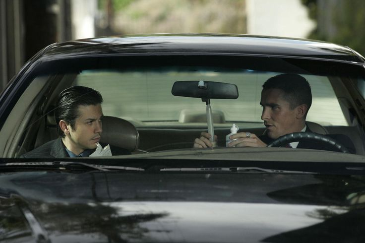 """Harsh Times"" movie still, 2005.  L to R: Freddy Rodriguez, Christian Bale."