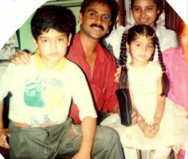anushka sharma and family