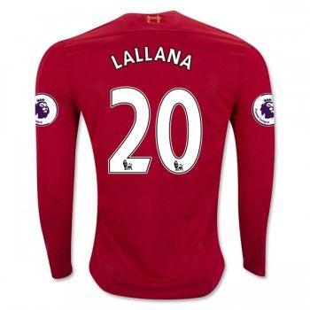 Liverpool 16-17 Adam Lallana 20 Hemmatröja Långärmad  #Fotbollströjor