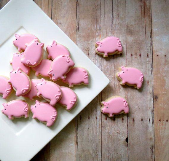 Pig Cookies  (2 Dozen)