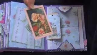 fairy mini album using dies and printables